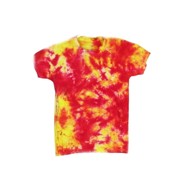 Tie Dye Short Sleeve T Shirt Crinkle Sizes Infant Toddler Youth Adult - ID 20335.3
