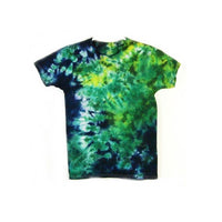 Tie Dye Short Sleeve T Shirt Crinkle Sizes Infant Toddler Youth Adult - ID 20385.3