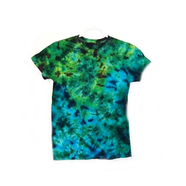 Tie Dye Short Sleeve T Shirt Crinkle Sizes Infant Toddler Youth Adult - ID 20625.3
