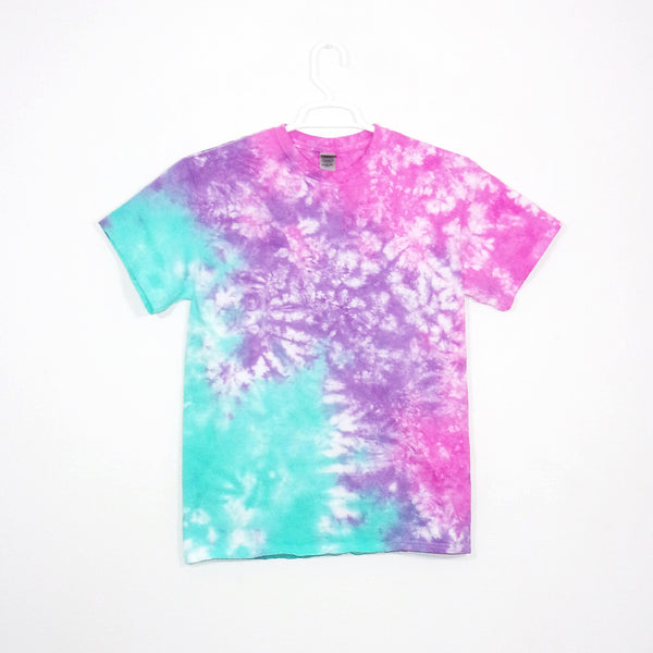 Tie Dye Short Sleeve T Shirt Crinkle Sizes Infant Toddler Youth Adult - ID 20895.3
