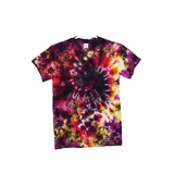 Tie Dye Galaxy Swirl Gildan Ultra Cotton Short Sleeve 6 ounce Heavy Weight T Shirts Adult Sizes S M L XL 2XL 3XL 4XL 5XL