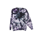 Tie Dye Sweatshirt Hoodless Sweater Hoodie Zipper Hoodie Pullover Options Galaxy Swirl S M L XL 2XL 3XL Heavyweight