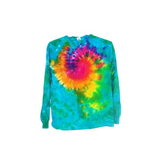 Tie Dye Long Sleeve T Shirt 5.3oz Galaxy Swirl Youth XS-XL Adult S-3XL - ID 3008LS