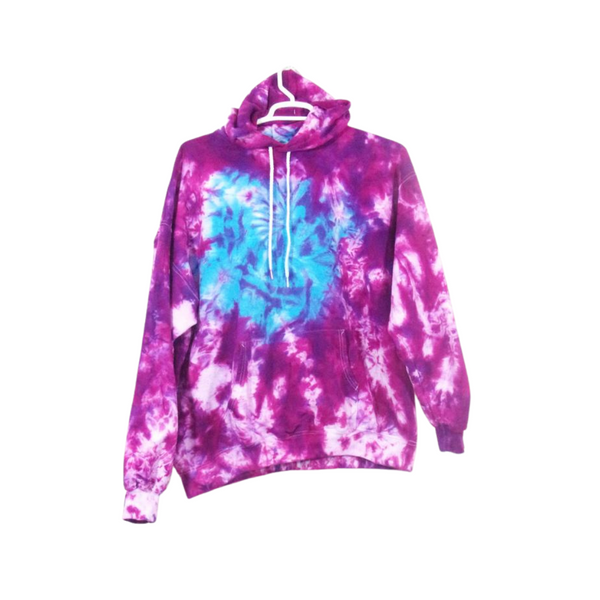 Tie Dye Hoodie Zipper Hoodie Pullover Hoodless Sweater Options Galaxy Swirl Adult S-3XL - ID 3009HS