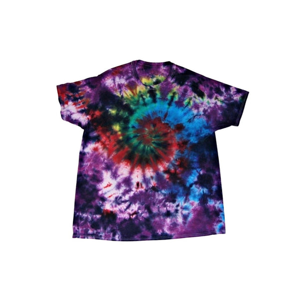 Tie Dye Short Sleeve T Shirt Galaxy Swirl Sizes Infant Toddler Youth Adult - ID 30105.3