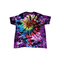 Tie Dye Short Sleeve T Shirt Galaxy Swirl Sizes Infant Toddler Youth Adult - ID 30115.3