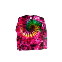 Tie Dye T Shirt Long Sleeve Galaxy Swirl Adult Youth Sizes