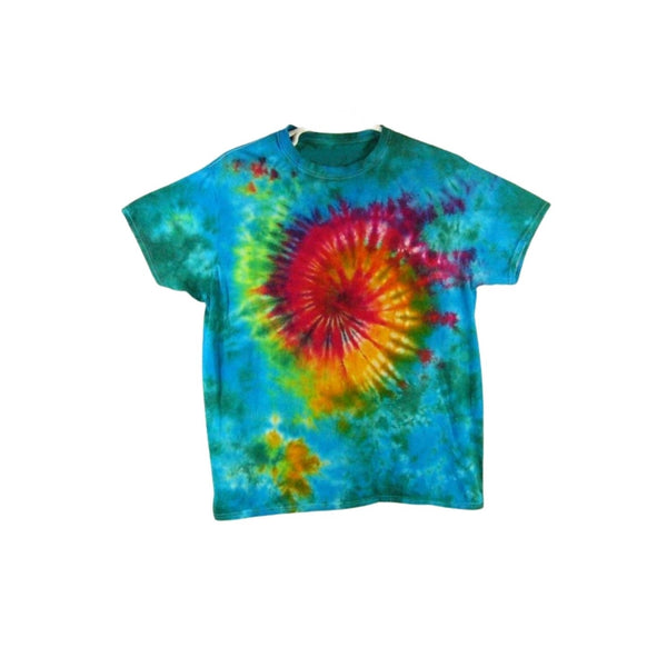 Tie Dye Short Sleeve T Shirt Galaxy Swirl Sizes Infant Toddler Youth Adult - ID 30225.3