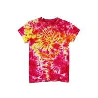 Tie Dye Short Sleeve T Shirt Galaxy Swirl Sizes Infant Toddler Youth Adult - ID 30255.3