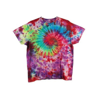 Tie Dye Short Sleeve T Shirt Galaxy Swirl Sizes Infant Toddler Youth Adult - ID 30285.3