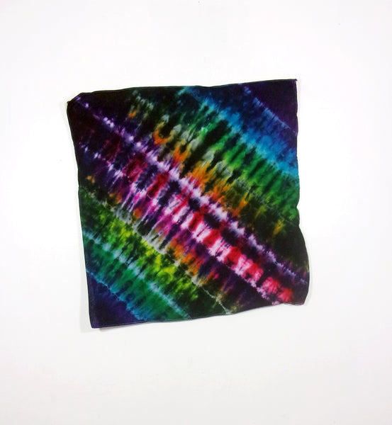 Tie Dye Bandana Accordion Fold - ID 4002B