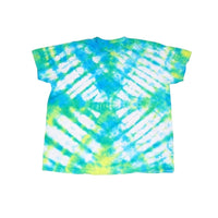 Tie Dye Short Sleeve T Shirt Folded Stripes Sizes Infant Toddler Youth Adult - ID 50025.3