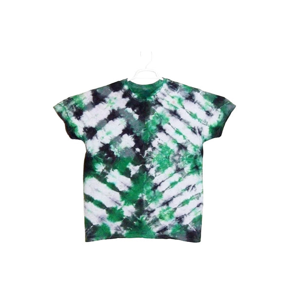 Tie Dye Short Sleeve Shirt Folded Stripes Handmade Tye Die Infant Toddler Youth Adult 6 mos 12 mos 18 mos 24 mos 2T 3T 4T 5T 6T XS S M L XL 2XL 3XL 4XL 5XL