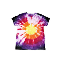 Tie Dye Short Sleeve T Shirt Bull's Eye Sizes Infant Toddler Youth Adult - ID 60085.3
