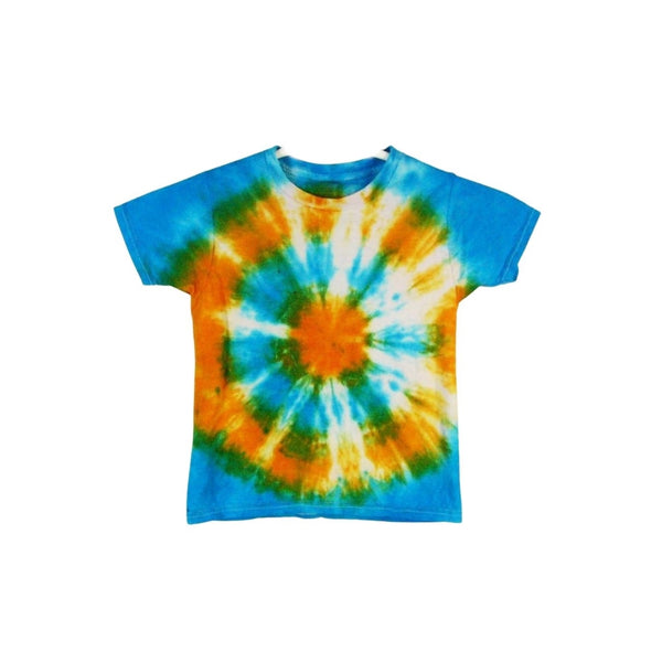 Tie Dye Short Sleeve T Shirt Bull's Eye Sizes Infant Toddler Youth Adult - ID 60195.3