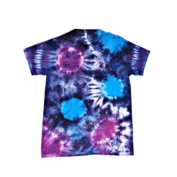 Tie Dye Short Sleeve T Shirt Sunburst Sizes Infant Toddler Youth Adult - ID 70045.3