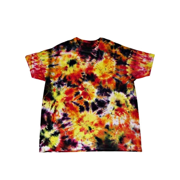 Tie Dye Short Sleeve T Shirt Sunburst Sizes Infant Toddler Youth Adult - ID 70135.3
