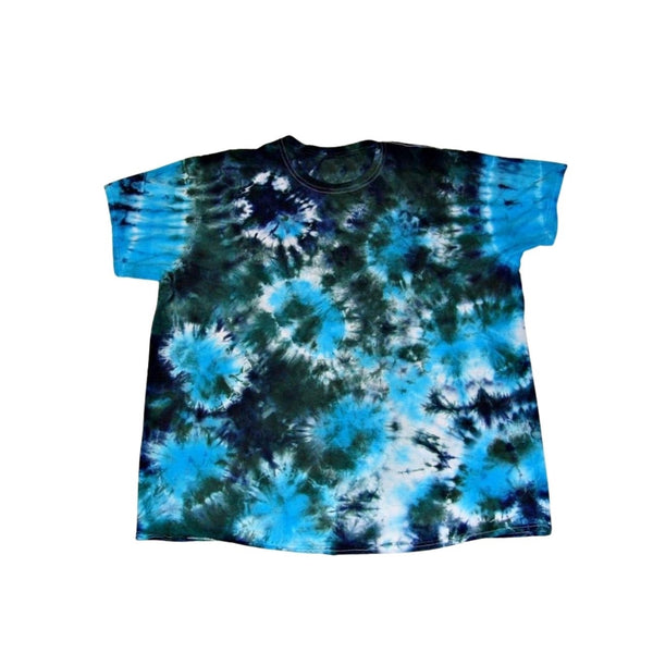Tie Dye Short Sleeve Shirt Sunburst Handmade Tye Die Infant Toddler Youth Adult 6 mos 12 mos 18 mos 24 mos 2T 3T 4T 5T 6T XS S M L XL 2XL 3XL 4XL 5XL