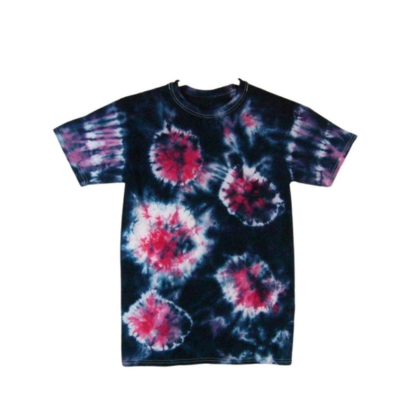 Tie Dye Short Sleeve T Shirt Sunburst Sizes Infant Toddler Youth Adult - ID 70215.3