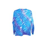 Tie Dye Shibori Long Sleeve T Shirt Adult Youth Sizes