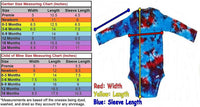 Tie Dye Baby Onesie Bull's Eye Handmade Tye Die Cotton Gerber And Child Of Mine Short Sleeve - ID 6007GCOMSS