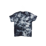 Tie Dye T Shirt Adult Large Crew Neck Crinkle Cotton Short Sleeve Premade