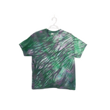 Tie Dye T Shirt Adult XL Crew Neck Shibori Cotton Short Sleeve Premade