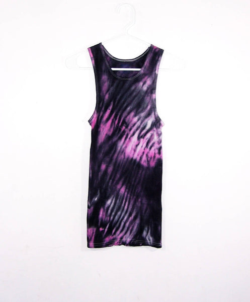 Tie Dye Ribbed Tank Top Shibori - ID 8004RT