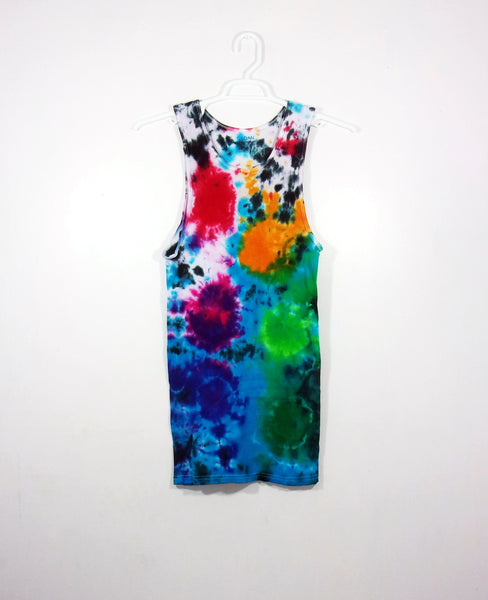 Tie Dye Sunburst Tank Top ( Ribbed )
