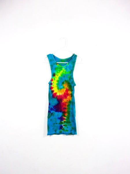 Tie Dye Ribbed Tank Top Galaxy Swirl - ID 3033RT