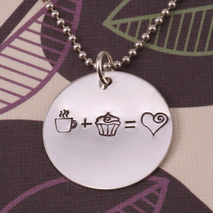 Heart with Spiral Metal Design Stamp, 4.5mm - Beaducation Original