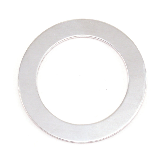 "Aluminum Washer , 31.5mm (1.24"") with 22mm (.87"") ID, 18 Gauge, Pack of 5"
