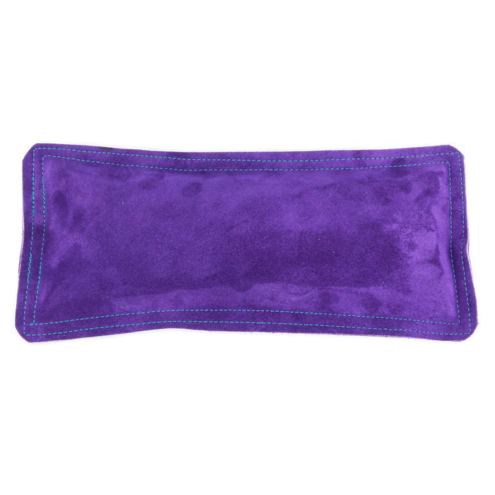"Sandbag, Ring Mandrel Pad - 12"" x 5.5"" Purple Leather/Suede"
