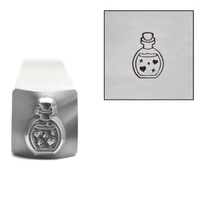 Metal Stamping Tools Love Potion Metal Design Stamp, 7mm, by Stamp Yours