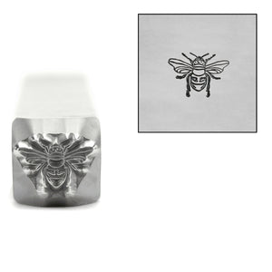 Metal Stamping Tools Bee Metal Design Stamp, 8.5mm, by Stamp Yours