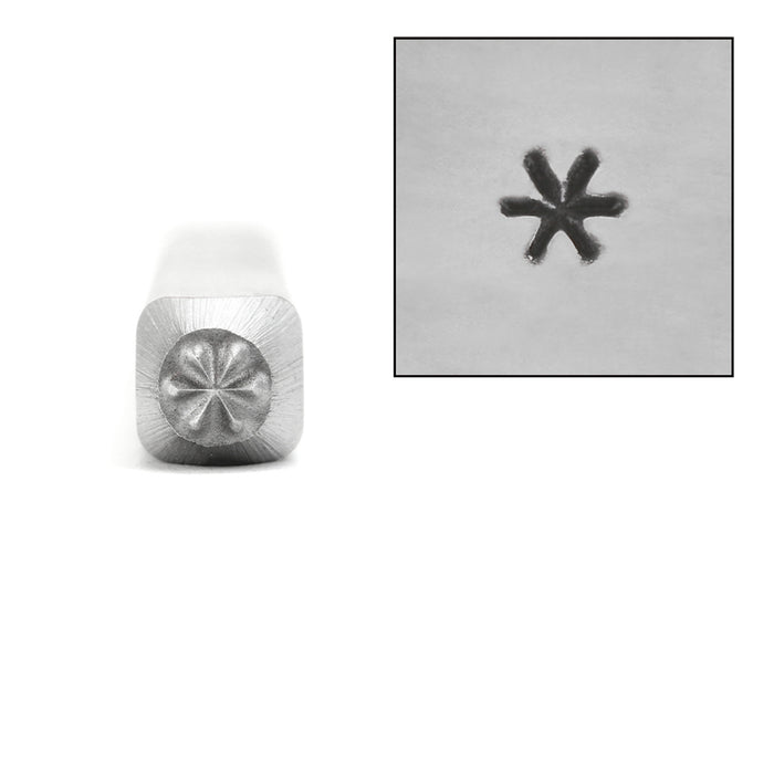 Asterisk Metal Design Stamp, 2.5mm