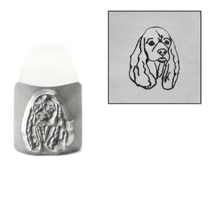 Metal Stamping Tools Cocker Spaniel Metal Design Stamp, 8mm, by Stamp Yours