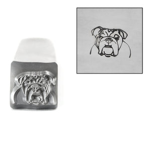 Metal Stamping Tools Bulldog Metal Design Stamp, 8mm, by Stamp Yours