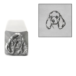 Metal Stamping Tools Poodle Metal Design Stamp, 8mm, by Stamp Yours
