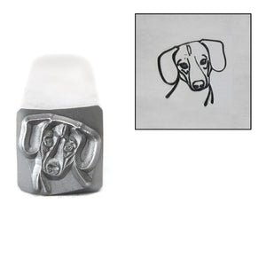 Metal Stamping Tools Dachschund Metal Design Stamp, 8mm, by Stamp Yours