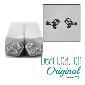Metal Stamping Tools Love Birds Metal Design Stamp, 4mm - Beaducation Original