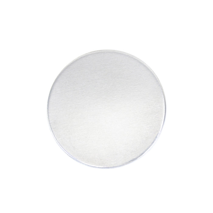 "Aluminum Round, Disc, Circle, 22mm (.87""), 18g, Pack of 5"