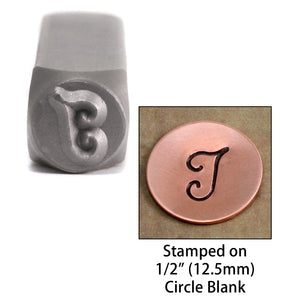 "Metal Stamping Tools NOT RESTOCKING-  Monogram Letter ""I""  6mm"