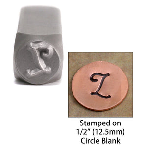 "Metal Stamping Tools NOT RESTOCKING -  Monogram Letter ""L""  6mm"