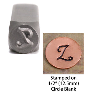 "Metal Stamping Tools NOT RESTOCKING -  Monogram Letter ""Z""  6mm"