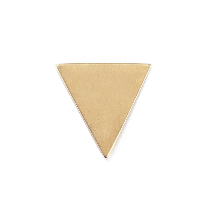 "Brass Triangle, 19mm (.75"") x 18mm (.71""), 24g, Pack of 5"