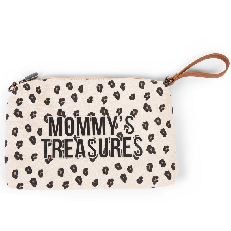 Mommy's Treasure Clutch | Leopard