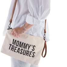 Afbeelding in Gallery-weergave laden, Mommy's Treasure Clutch | Ecru Zwart