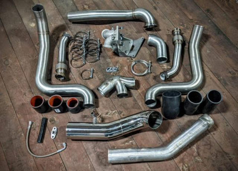 Obsession Diesel's T-4 Turbo Mounting Kit