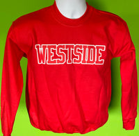 Youth Red Westside Crewneck